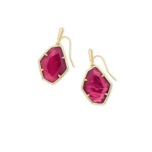 Kendra Scott Dunn gold drop earrings